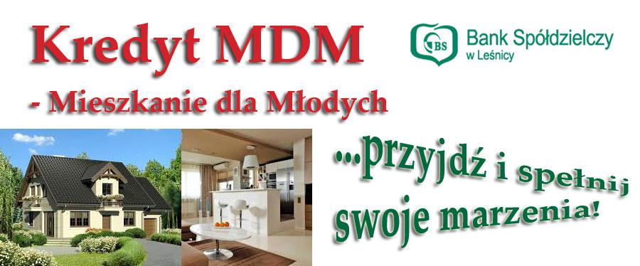 Kredyt MDM - oferta ważna od 14.07.2014r.